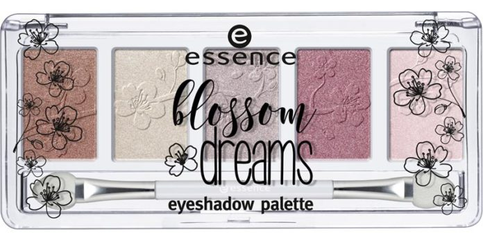 Палетка теней blossom dreams eyeshadow palette