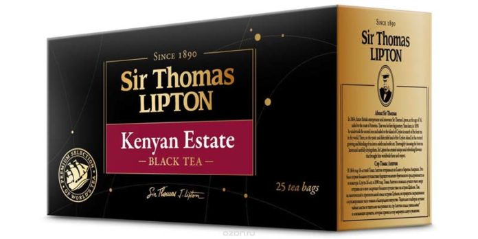 Чай Sir Thomas Lipton Kenyan Estate