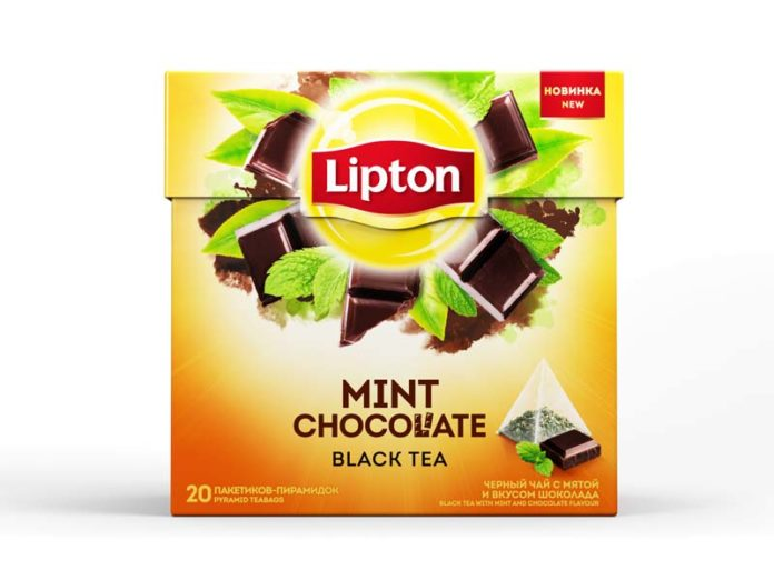 Чай Lipton Mint Chocolate в пирамидках