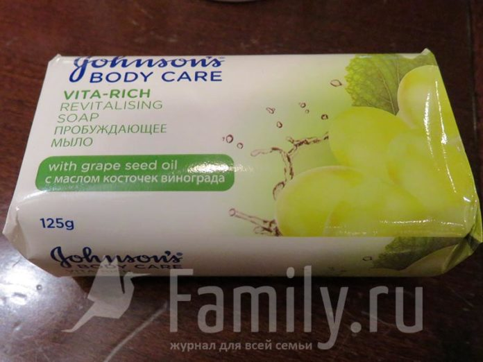 Мыло Johnson's Body Care Vita-Rich