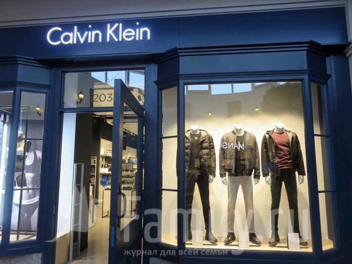 Магазин Calvin Klein в Fashion House Outlet Centre Moscow