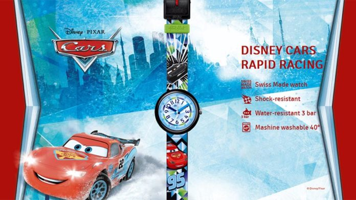 Часы Flik Flak Disney Cars Rapid Racing