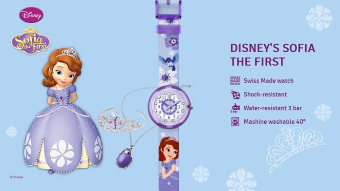 Детские часы Flik Flak Disney's Sofia the First