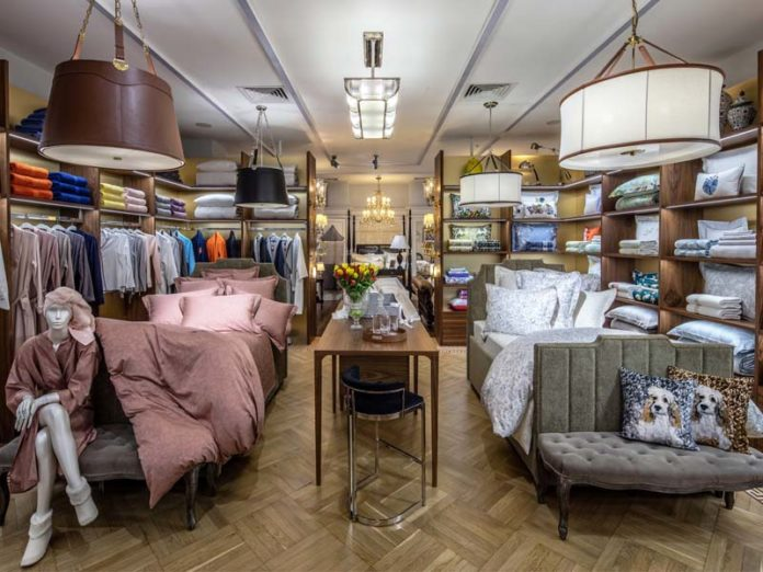 Yves Delorme Couture в ТЦ Dream House