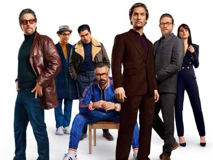 «Джентльмены» постер фильма