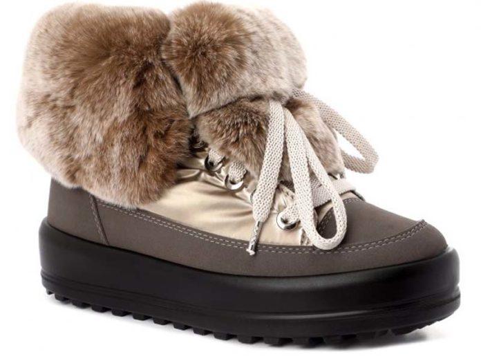 Ботинки с мехом Jog Dog
