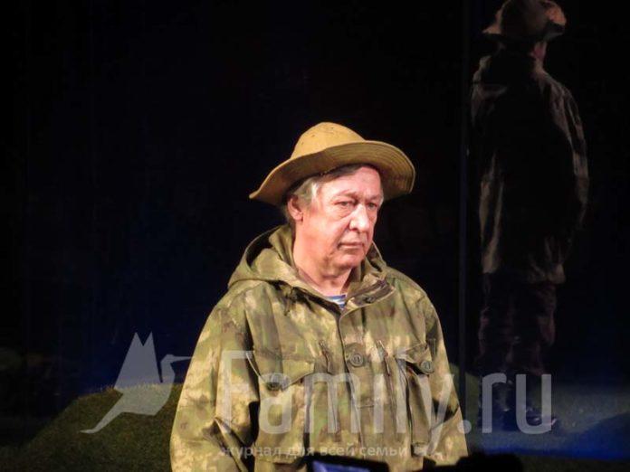 Михаил Ефремов на сцене