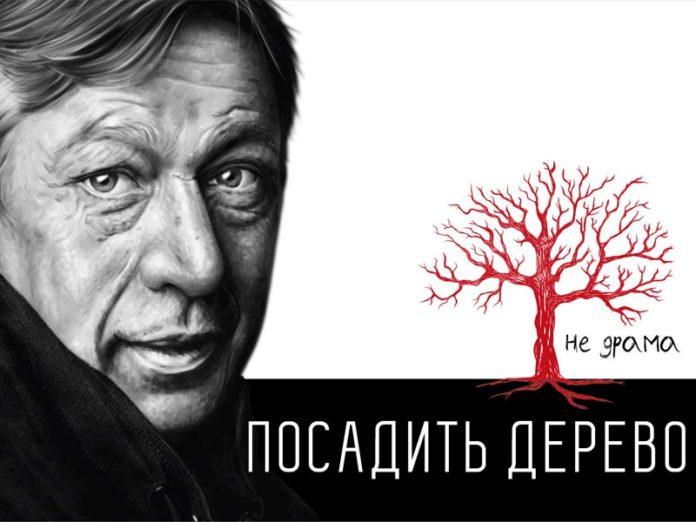 Баннер спектакля «Посадить дерево»