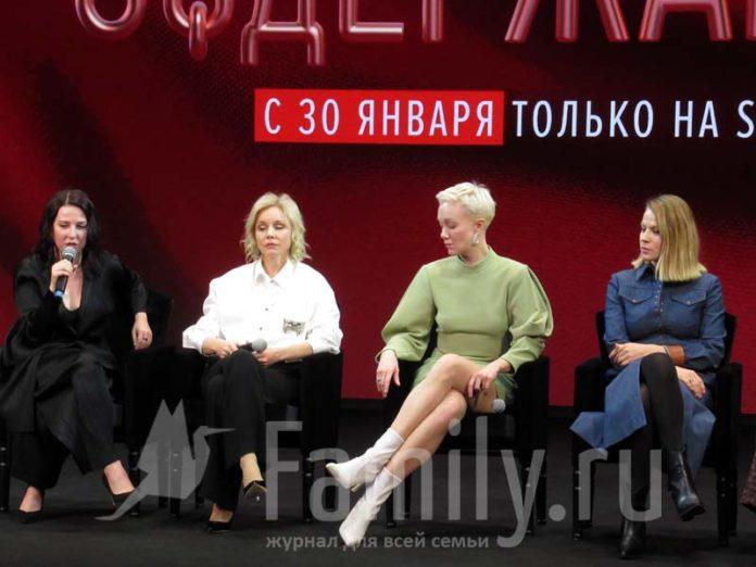 Александра Ребенок, Дарья Мороз, Марина Зудина и Ирина Сосновая
