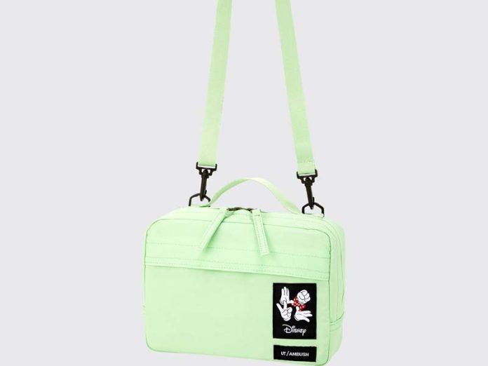 Сумка-почтальонка мятно-зеленого цвета