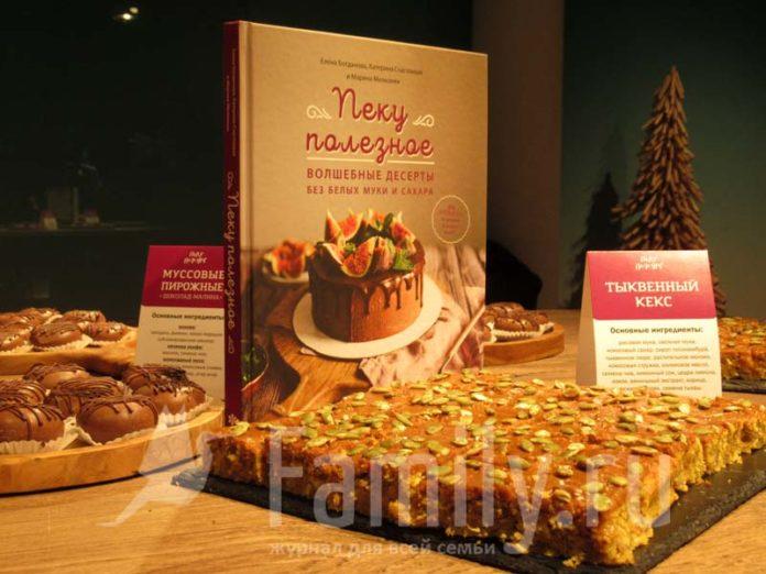 Десерты ЗОЖ по книге рецептов