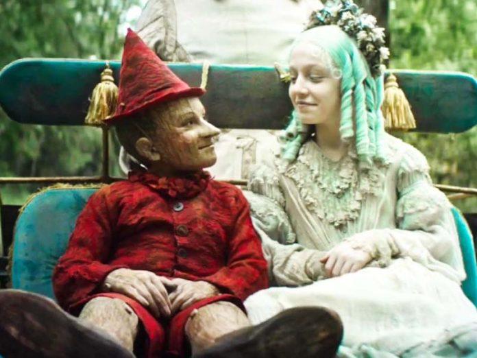 Пиноккио и Мальвина