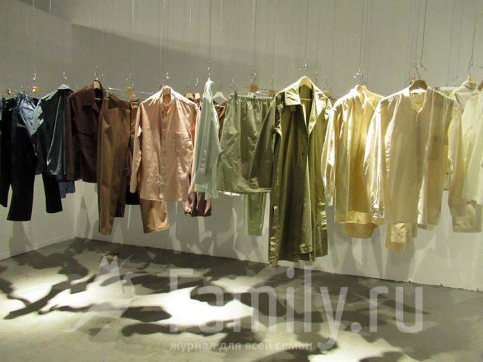 Одежда из хлопка и льна