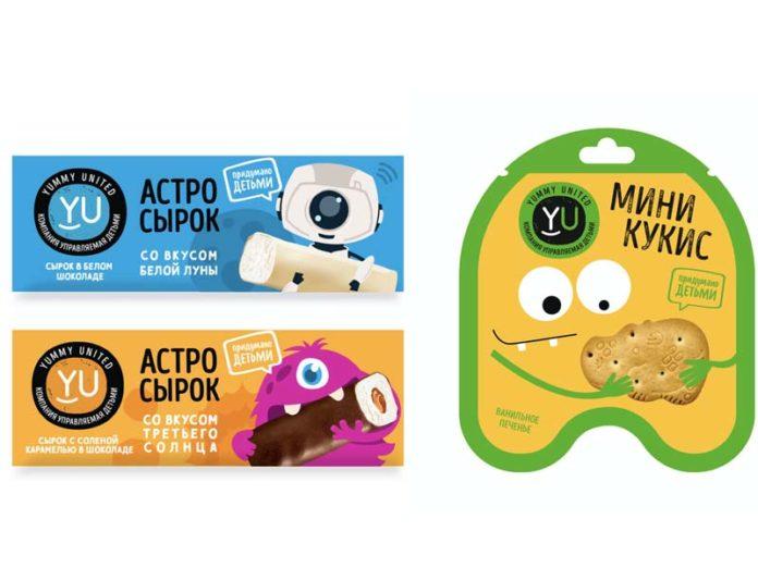 Сырки и печенье для детей