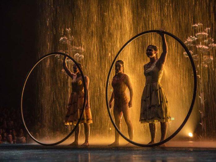 Циркачки из Cirque du Soleil
