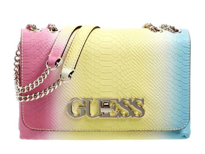Цветная сумка Guess на лето