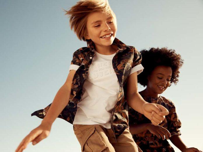 Рубашка для мальчика с камуфляжным принтом