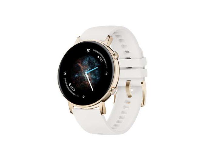 Смарт-часы Huawei Watch GT 2 с белым ремешком