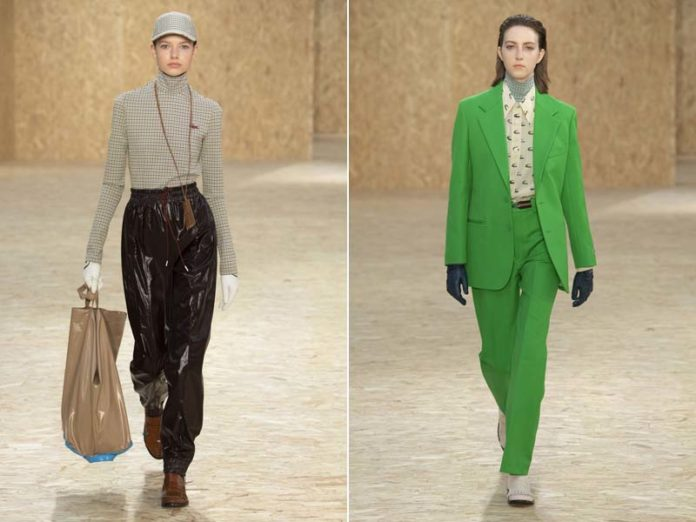 Зеленый женский костюм Lacoste