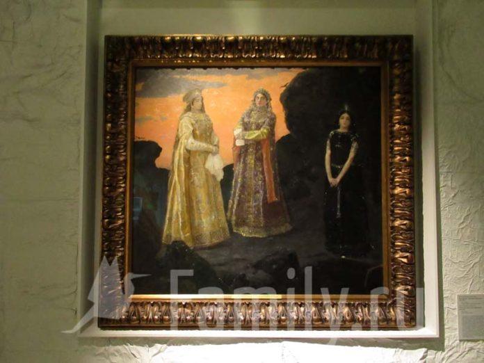 Три царевны Васнецова