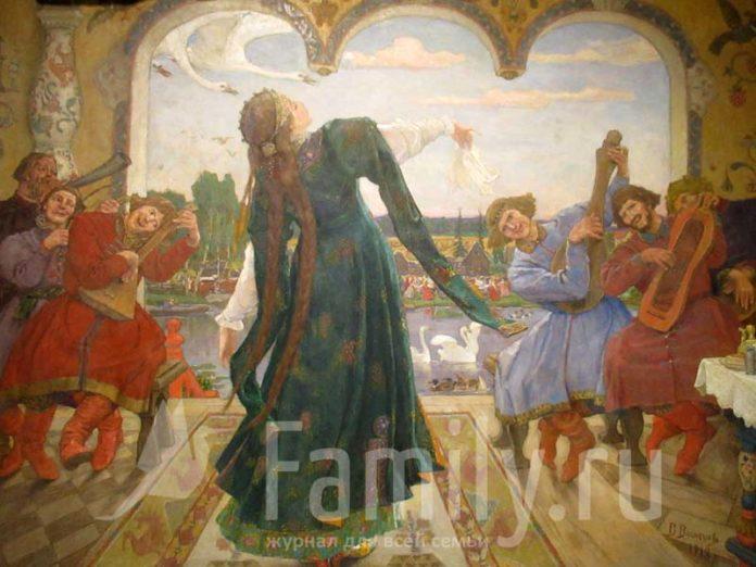 Царевна-лягушка на картине Васнецова