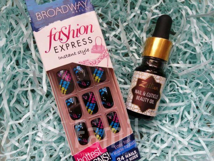 Накладные ногти и масло для кутикулы Zeitun