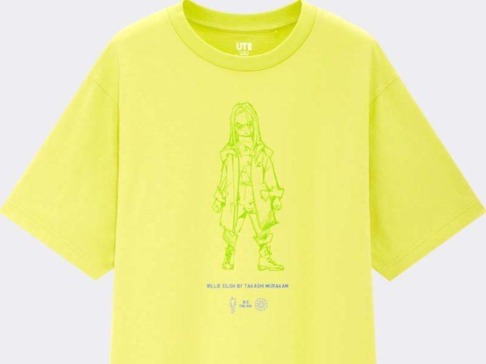 Женская футболка с логотипом Blohsh от Billie Eilish
