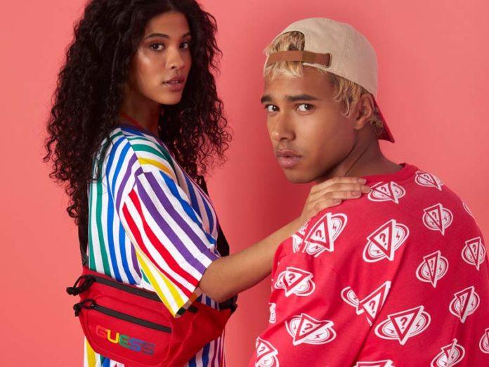 Одежда из новой коллекции Guess x J Balvin Colores