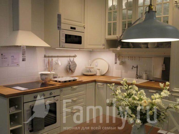 Кухня-столовая в ИКЕА