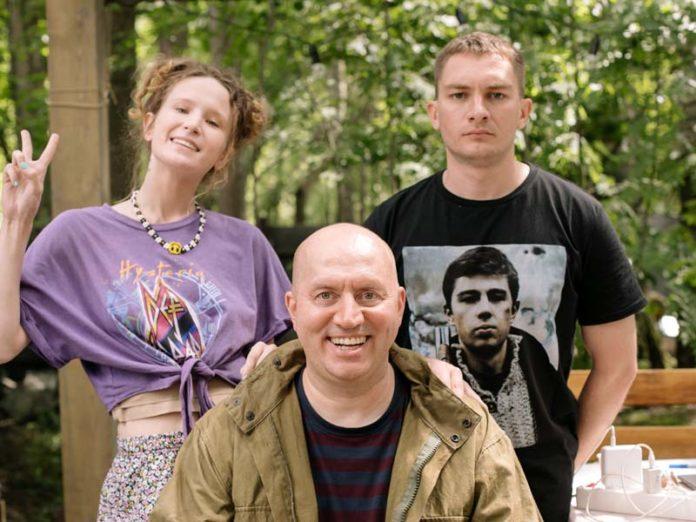 Сергей Бурунов и дети