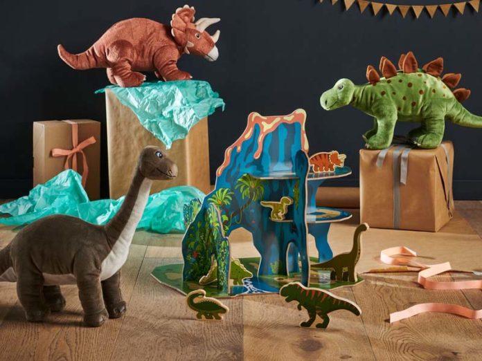 Динозавры в ИКЕА
