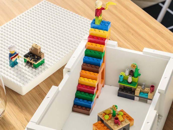 Контейнеры Бюгглек для игрушек Лего