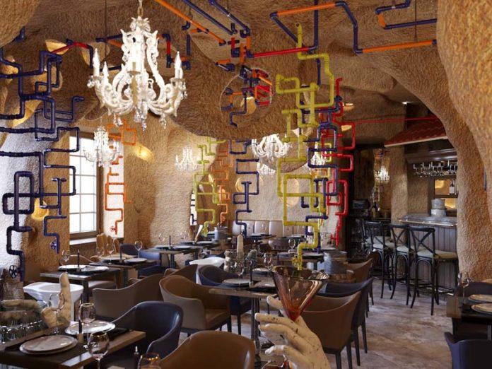 Гастропаб «Крендель» зал со столами