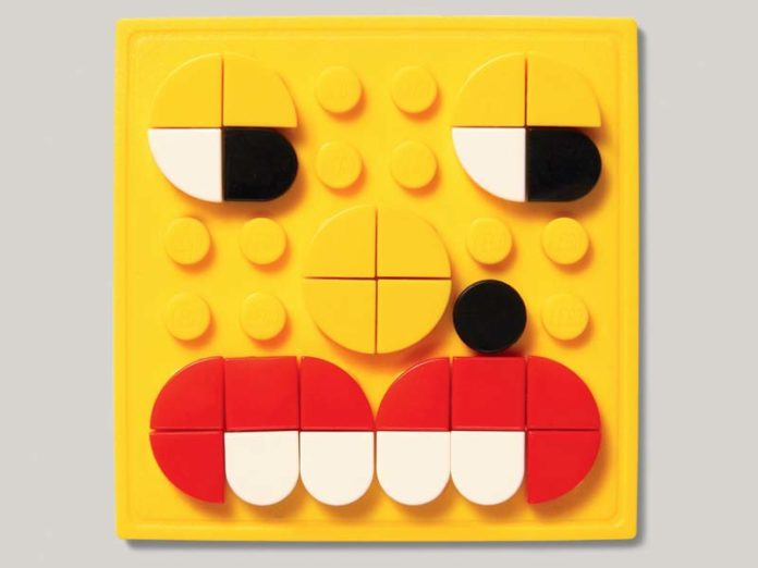 Гибкая пластина Лего