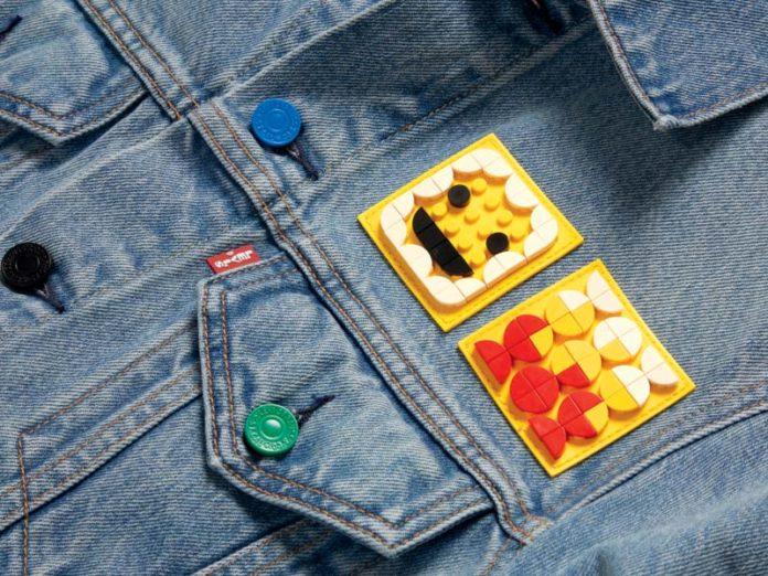 Куртка Левайс с пластинами Лего
