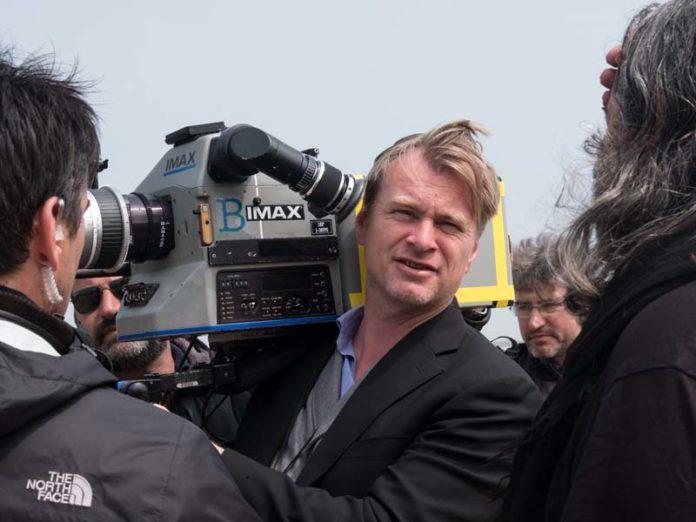 Кристофер Нолан с камерой IMAX