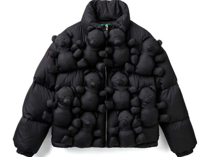 Куртка для детей с мишками