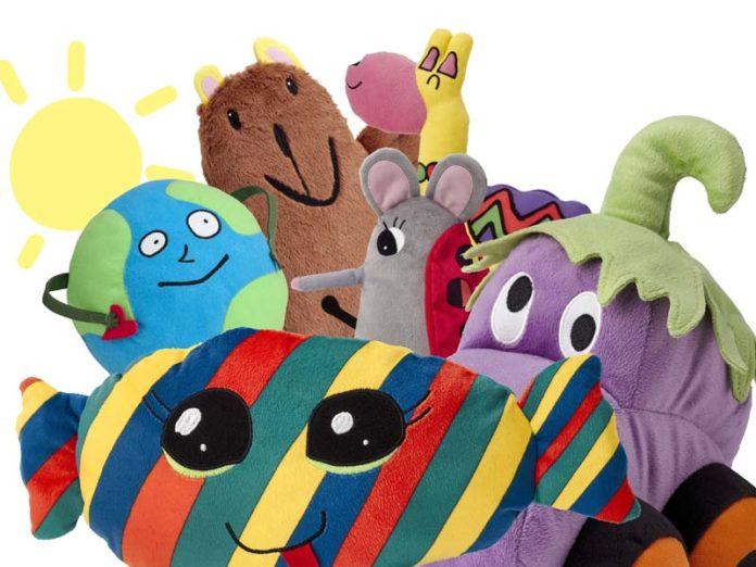 Мягкие игрушки в ИКЕА