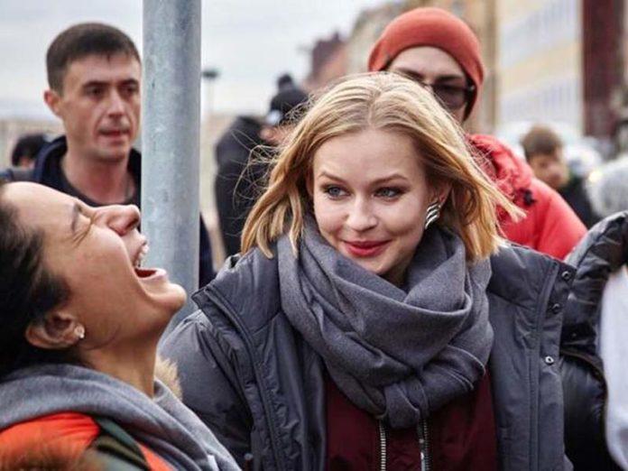 Анна Меликян и Юлия Пересильд