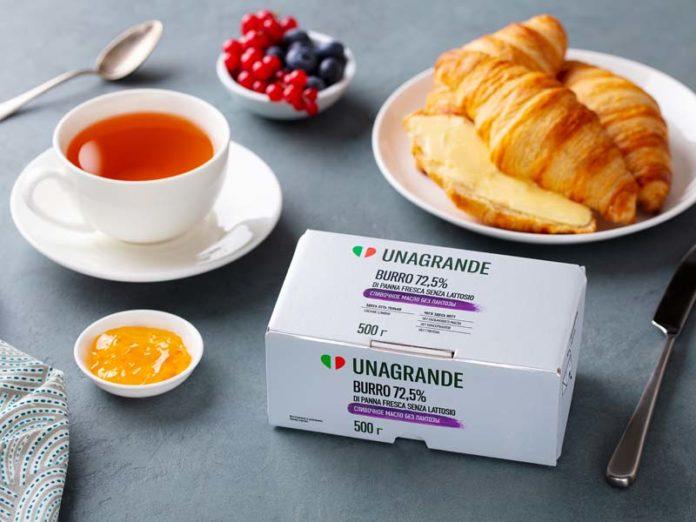 Сливочное масло Unagrande без лактозы