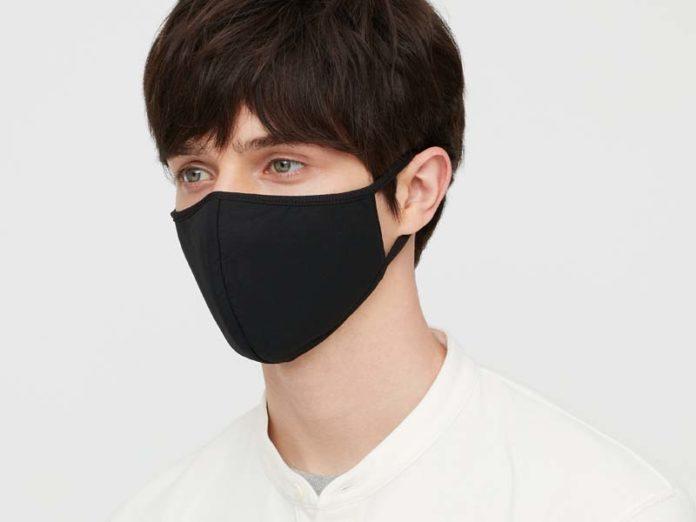 Черная маска от ковида