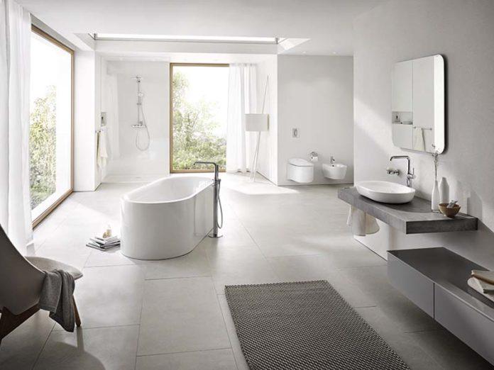 Стильная ванная комната Grohe