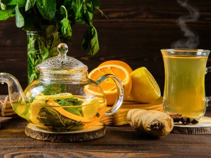 Чай Milford с лимоном