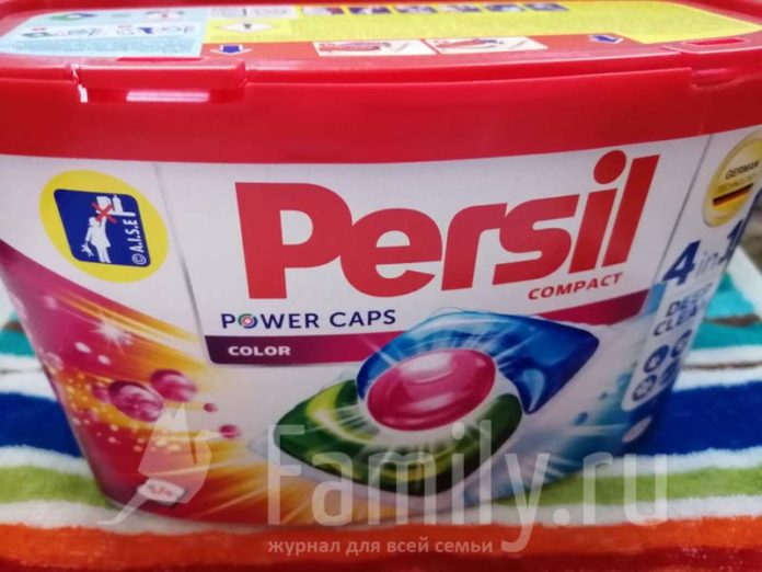 Капсулы Persil Power Caps 4 в 1 «Колор»