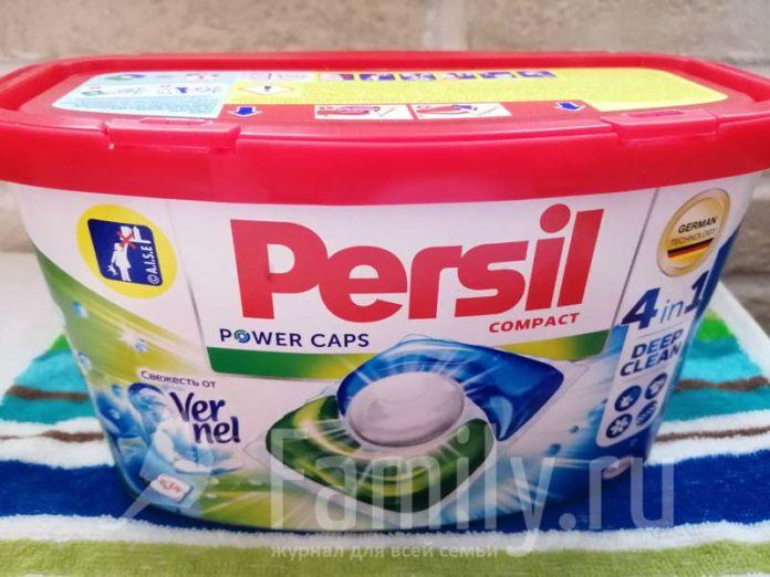 Капсулы для стирки Persil Power Caps 4 в 1