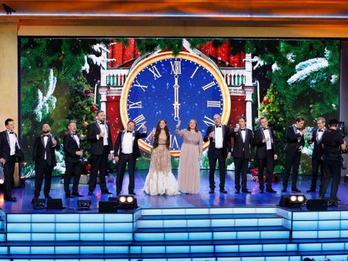 Шоу «Уральские пельмени» в новогоднюю ночь