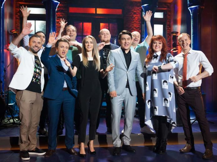 Актеры шоу «Однажды в России»