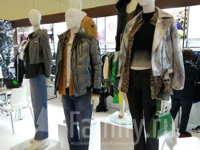 Модная одежда на выставке CPM