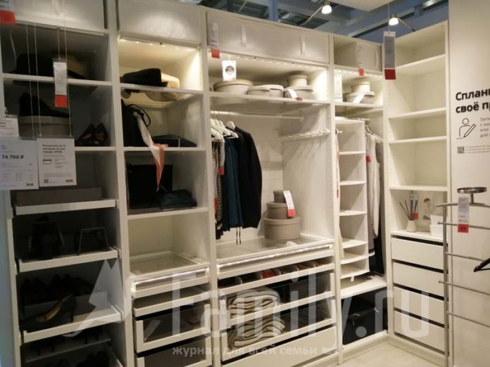 Начинка гардероба из Икеа