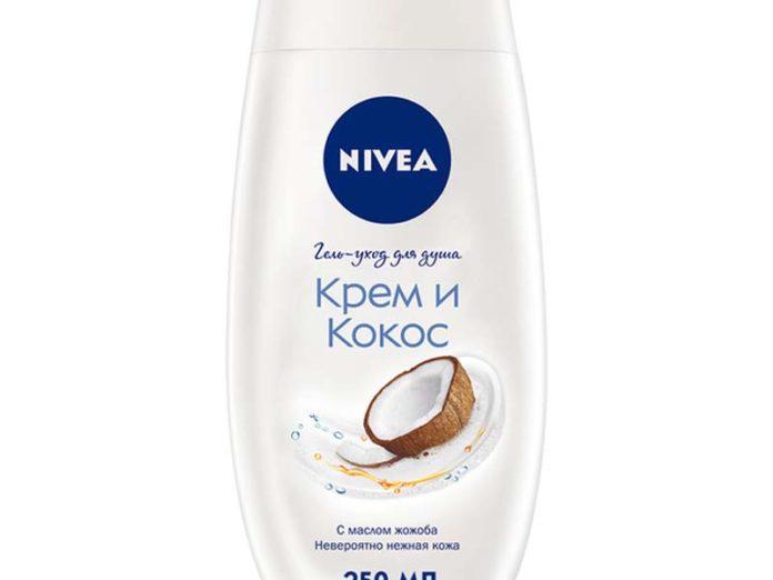 Гель Nivea «Крем и кокос»